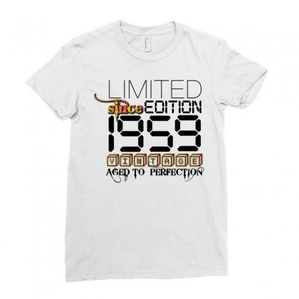 Limited Edition 1959 Ladies Fitted T-shirt Designed By Designbycommodus