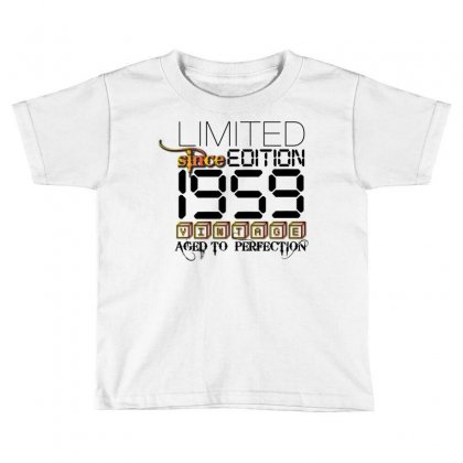 Limited Edition 1959 Toddler T-shirt Designed By Designbycommodus