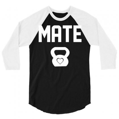 Mate 3/4 Sleeve Shirt Designed By Designbysebastian