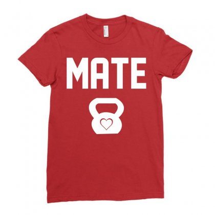 Mate Ladies Fitted T-shirt Designed By Designbysebastian