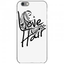 love is in the hair iPhone 6/6s Case   Artistshot