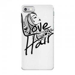 love is in the hair iPhone 7 Case   Artistshot