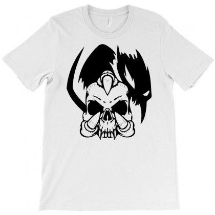 Music Skull T-shirt Designed By Marla_arts