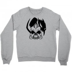 music skull Crewneck Sweatshirt | Artistshot