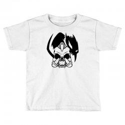music skull Toddler T-shirt | Artistshot