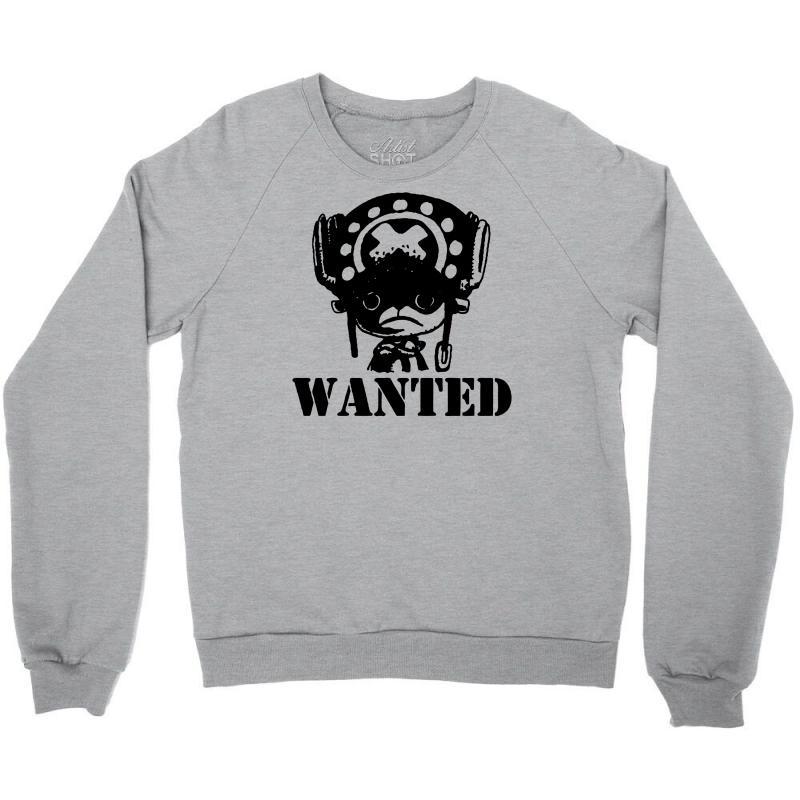 3063d413ae Custom Anime Wanted Crewneck Sweatshirt By Marla_arts - Artistshot