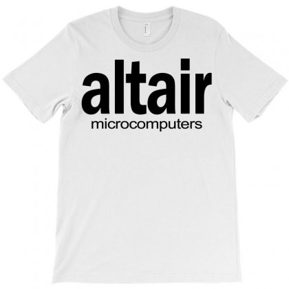 Altair Micro Computers Nerd Retro 80s Homebrew Funny Cool Geek Tee Shirt T Shirt T-shirt Designed By Bapakdanur