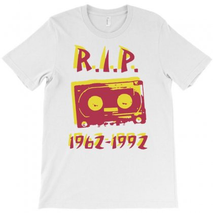 Retro Cassette Tape Rip T-shirt Designed By Tonyhaddearts