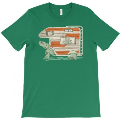 Turtle Camper T-shirt Designed By Tonyhaddearts