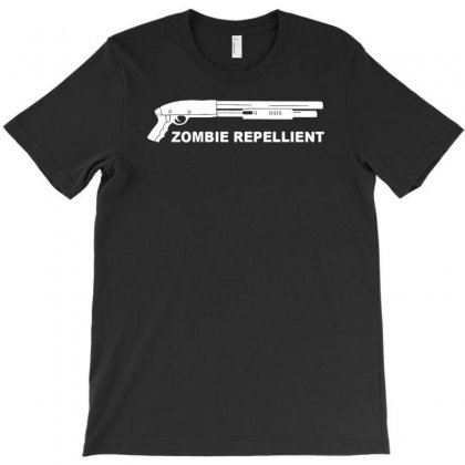Zombie Repllent T-shirt Designed By Tonyhaddearts