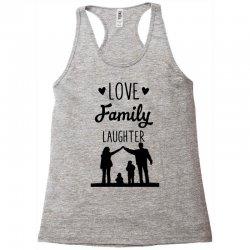 love family laughter Racerback Tank   Artistshot