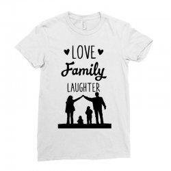 love family laughter Ladies Fitted T-Shirt | Artistshot
