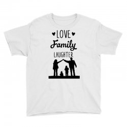love family laughter Youth Tee | Artistshot
