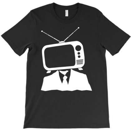 Tv Head T-shirt Designed By Marla_arts