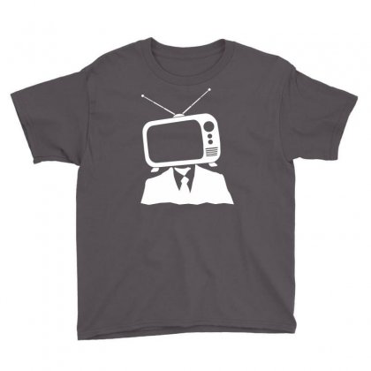 Tv Head Youth Tee Designed By Marla_arts