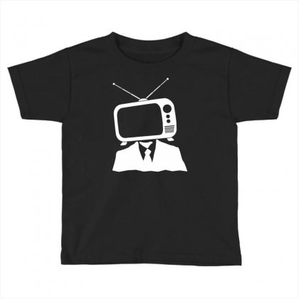 Tv Head Toddler T-shirt Designed By Marla_arts