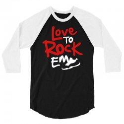 love to rock em 3/4 Sleeve Shirt | Artistshot