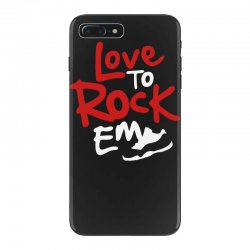 love to rock em iPhone 7 Plus Case | Artistshot