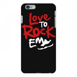 love to rock em iPhone 6 Plus/6s Plus Case | Artistshot