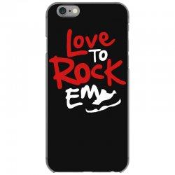 love to rock em iPhone 6/6s Case | Artistshot