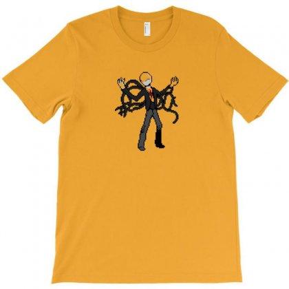 8bit Slenderman Slender Man Creepypasta T-shirt Designed By Bapakdanur