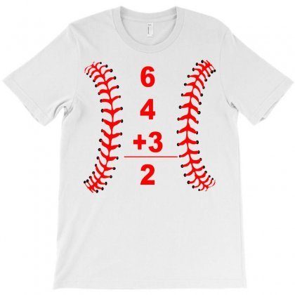 6 4 3 Double T-shirt Designed By Bapakdanur
