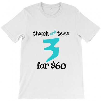 3 For The Money T-shirt Designed By Bapakdanur