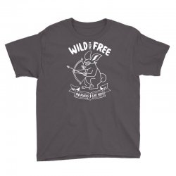 wild and free Youth Tee | Artistshot