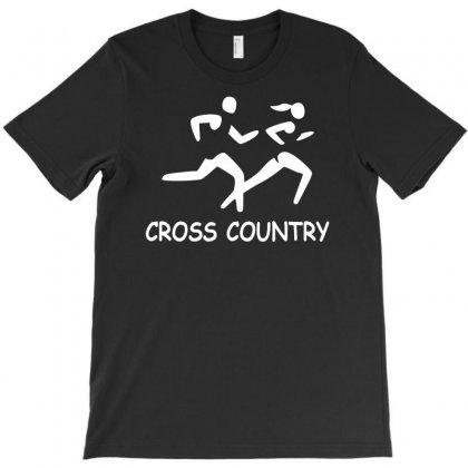 Cross Country High School Running T-shirt Designed By Satuprinsip