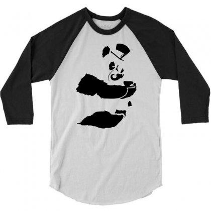 Art Of Tea 3/4 Sleeve Shirt Designed By Marla_arts