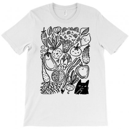 Funny Vegetables T-shirt Designed By Marla_arts