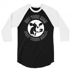funny cow 3/4 Sleeve Shirt   Artistshot