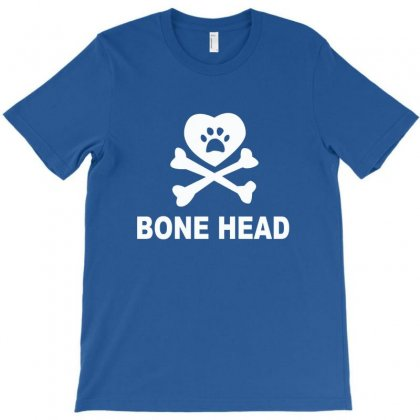 Bone Head Dog Hooded Swea T-shirt Designed By Bapakdanur