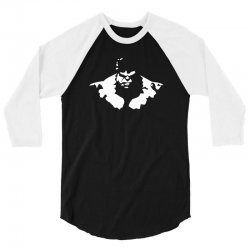 bodybuilding hulk 3/4 Sleeve Shirt   Artistshot
