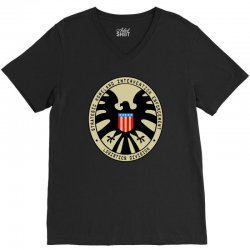 agents of s.h.i.e.l V-Neck Tee | Artistshot