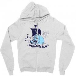 musical ship Zipper Hoodie   Artistshot