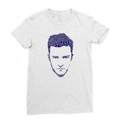 justin timberlake Ladies Fitted T-Shirt | Artistshot