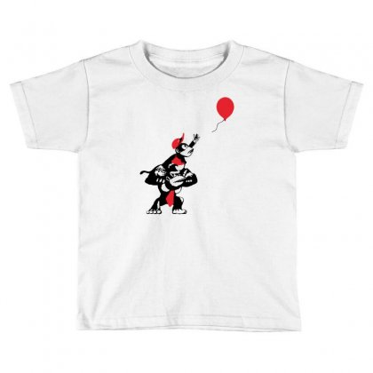 Balloon Apes Toddler T-shirt Designed By Marla_arts