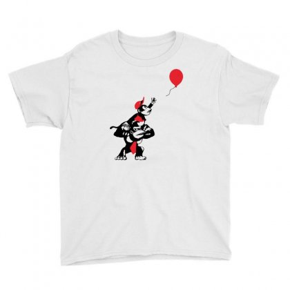 Balloon Apes Youth Tee Designed By Marla_arts