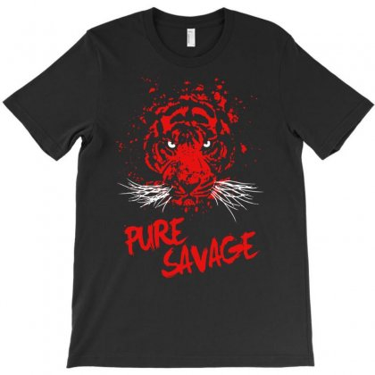 Pure Savage T-shirt Designed By Marla_arts