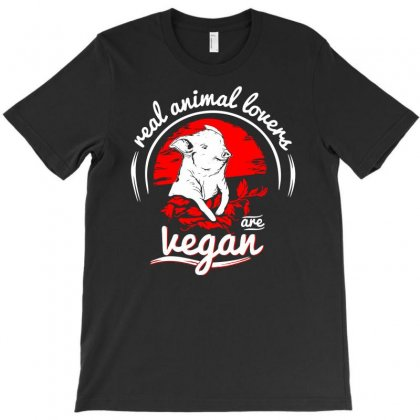 Real Animal Lover T-shirt Designed By Marla_arts