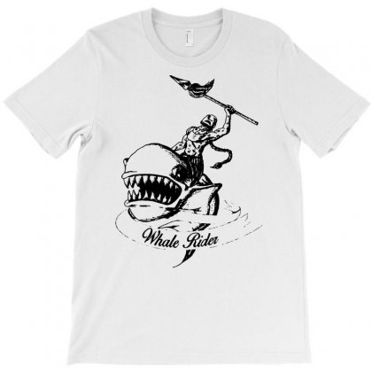 Whale Rider T-shirt Designed By Marla_arts