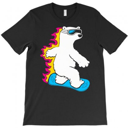 Extreme Sporty Bear T-shirt Designed By Marla_arts