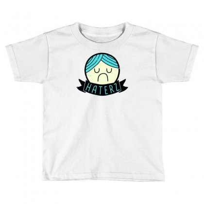 Haterz Gonna Hate Toddler T-shirt Designed By Marla_arts