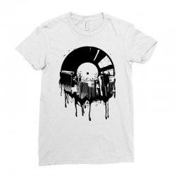 music city Ladies Fitted T-Shirt   Artistshot
