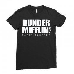 dunder mifflin Ladies Fitted T-Shirt | Artistshot