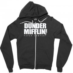dunder mifflin Zipper Hoodie | Artistshot
