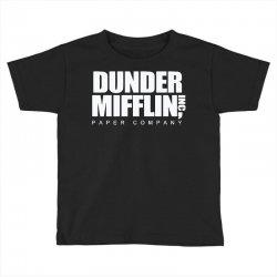 dunder mifflin Toddler T-shirt | Artistshot