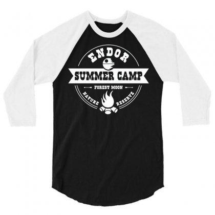 Endor Summer Camp 3/4 Sleeve Shirt Designed By Deomatis9888