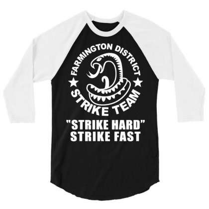 Farmington Strike Team 3/4 Sleeve Shirt Designed By Deomatis9888